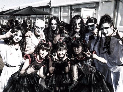 【BABYMETAL】YUIMETAL「ヘヴィ・メタルの音楽やメタル・バンドの見た目が怖かった」1