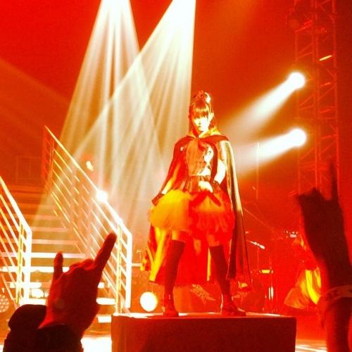 【BABYMETAL】YUIMETAL「ヘヴィ・メタルの音楽やメタル・バンドの見た目が怖かった」3
