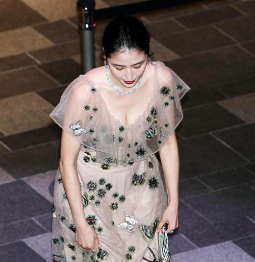 【画像】長澤まさみ 透けドレスでセクシー胸元4