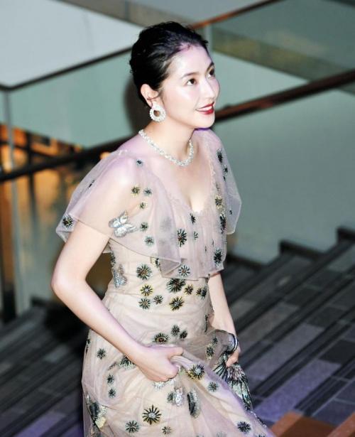 【画像】長澤まさみ 透けドレスでセクシー胸元3