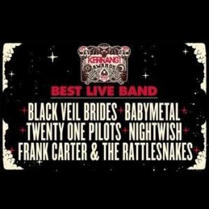 BABYMETAL、英国の音楽アワーズで最優秀ライブ・バンドの候補に