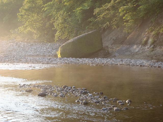 水沼橋下流の淵(元)