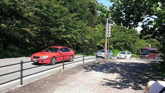 フルーツ公園渋滞