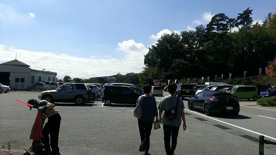 フルーツ公園駐車場