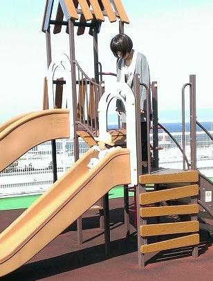 関空滑り台