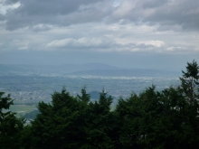 藤本山から生駒方面
