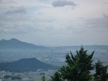 藤本山から大阪方面