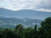 藤本山から飛鳥を見おろす