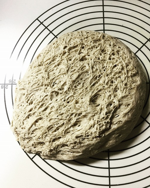 ベーグル・一次発酵2
