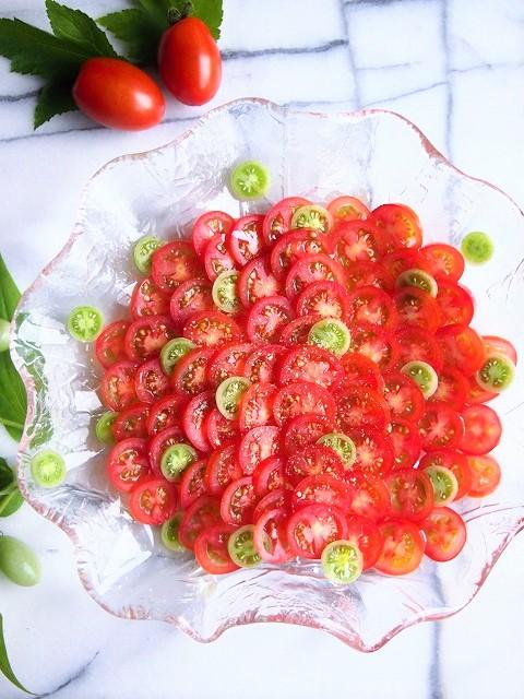 トマトのカルパッチョ 3