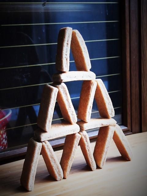 酵母のクッキータワー 3