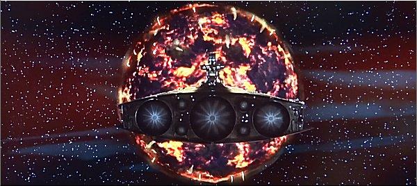 14-謎の球体に呑み込まれる宇宙船
