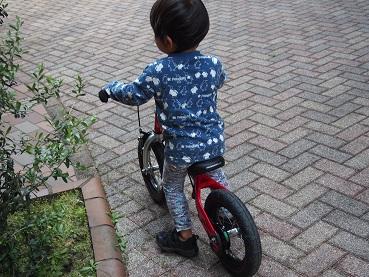 ヘンシンバイク乗れるよ!