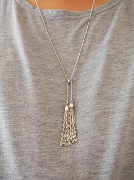 銀ネックレス