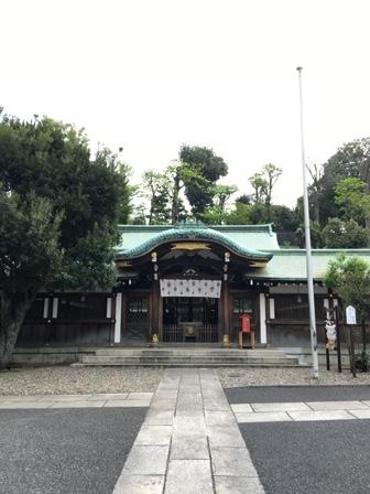 白金氷川神社②