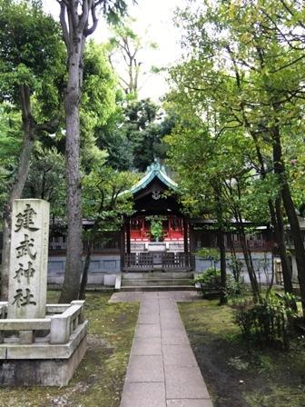 白金氷川神社③