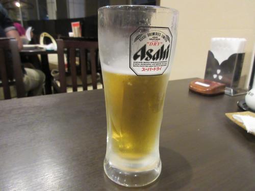 飲んじゃった生ビール