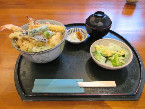 海老天丼(しお)