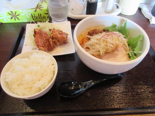 ラーメンセット(汁なし坦々麺)