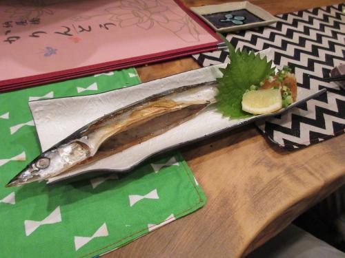 秋刀魚燻製炙り
