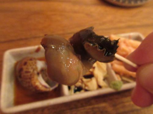 ぷりぷりのつぶ貝