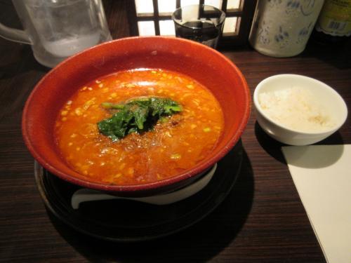 金ゴマ坦々麺