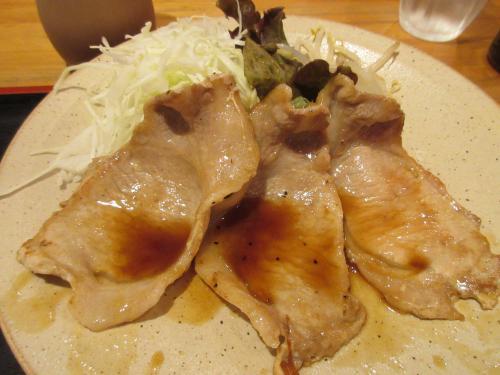 黒豚ロース生姜焼き