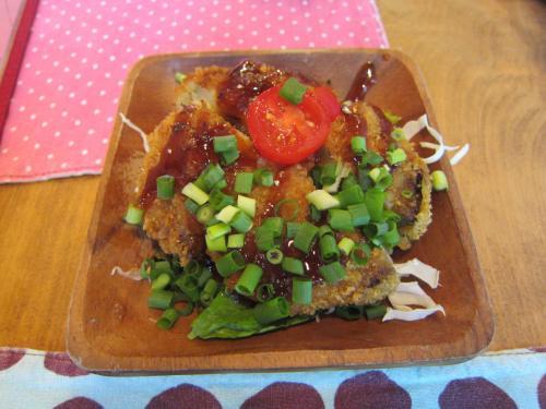 米茄子カレーメンチ