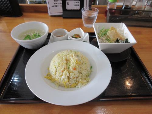 日替りランチの五目炒飯