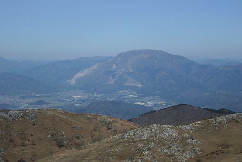 伊吹山の眺め