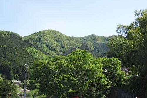 三国山遠望