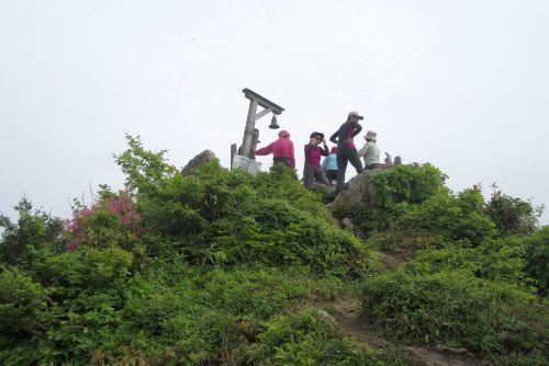 宝珠山山頂
