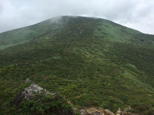 箕輪山大斜面