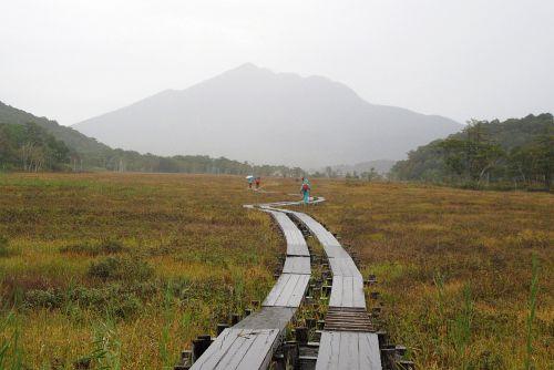 尾瀬ヶ原と燧ヶ岳