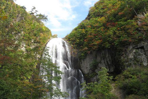 安の滝上段