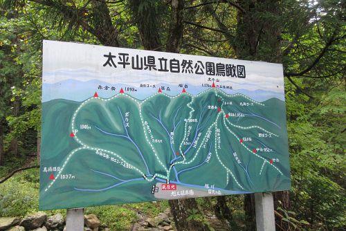 太平山の看板