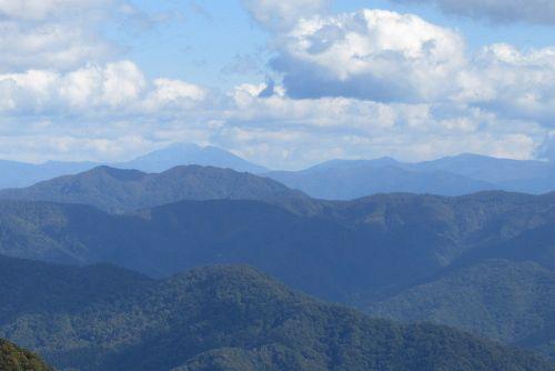 岩手山と乳頭山