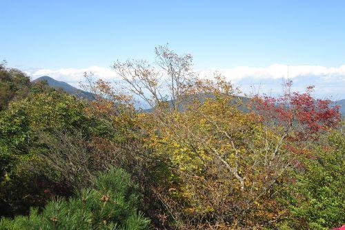武甲山と武川岳