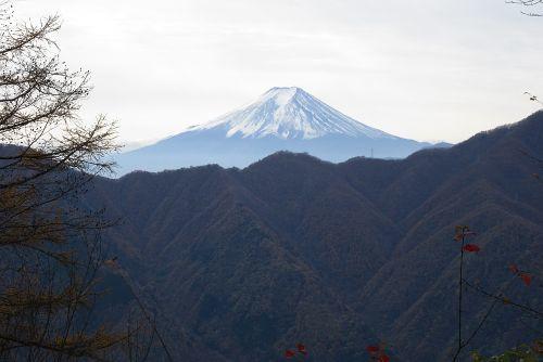 鶴寝山より富士山