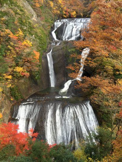 袋田の滝全景