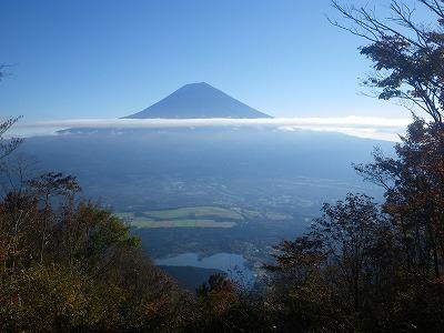 長者ヶ岳からの富士山