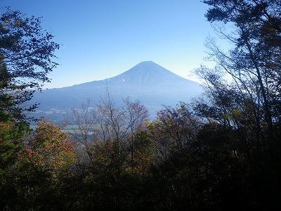 天子ヶ岳からの富士