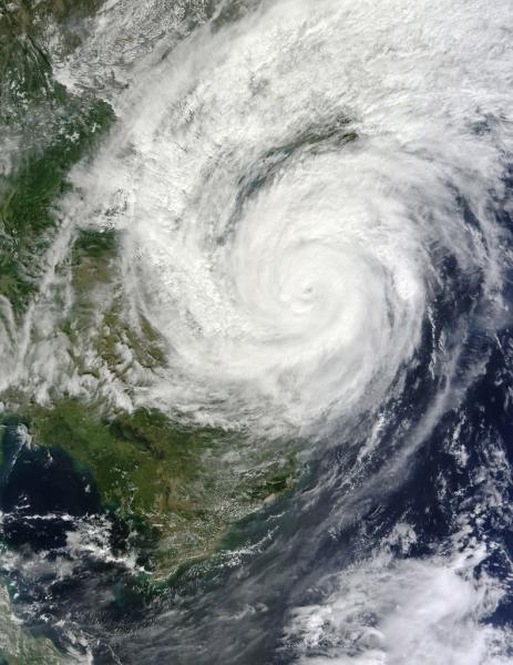 【朗報】台風10号さん、どうやら本物 そうだ、野球をみよう