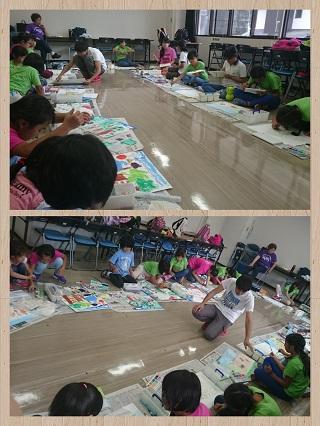 9月4日絵画教室