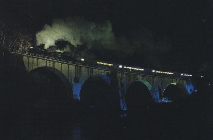 銀河鉄道夜空を行く