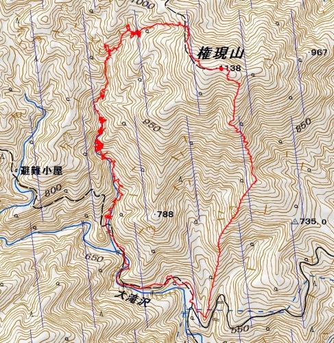 160710 マスキ嵐沢.軌跡
