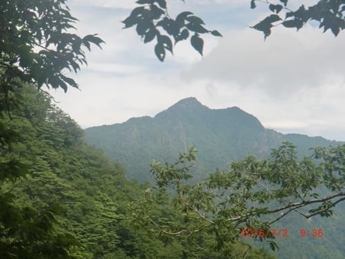 002 祖母山