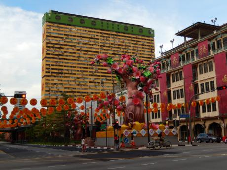 シンガポール2016.1チャイナタウン
