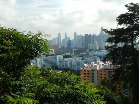 シンガポール2016.1マウントフェーバー