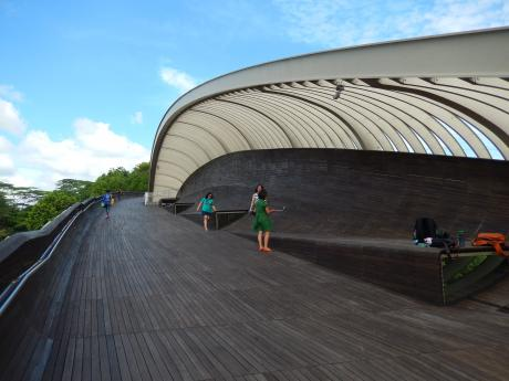 シンガポール2016.1へンダーソンウェーブ